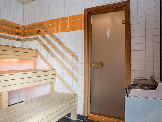 Nyköping, İsveç: Sauna