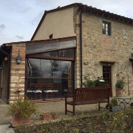 Montefiridolfi, Italy: Agriturismo Fonte de' Medici