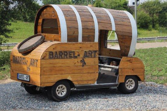 Hampton, VA: Barrel Art's Barrel-Kart.
