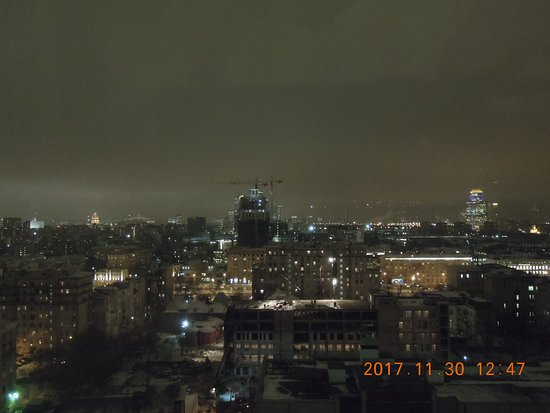Radisson Blu Belorusskaya Hotel: Ночная Москва