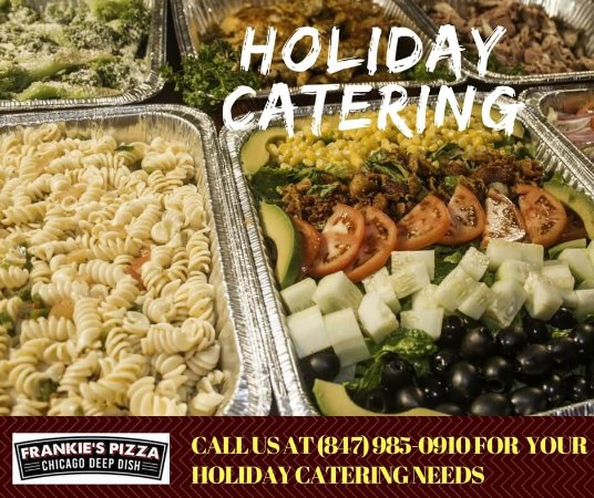 Elk Grove Village, IL: Holiday catering