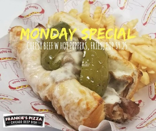 Elk Grove Village, IL: Monday specials