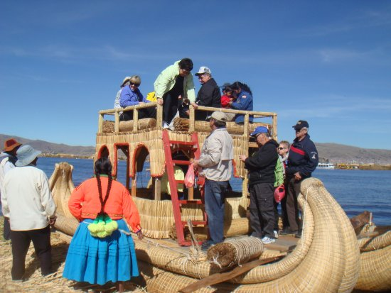"""South Adventure Peru Tours : Island tour to Uros """"Floating Island""""-Amantani and Taquile 2 Days"""