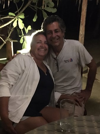 Stann Creek, Belize: Lisa & John were great company and so much fun to have around. We loved getting to know them.