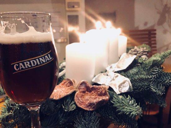 Café Restaurant des 3 Rois: Cardinal X-mas beer