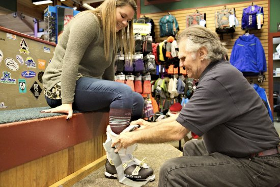 Princeton, MA: Stop by MTNside Ski & Ride, a full service shop located right in our base lodge.