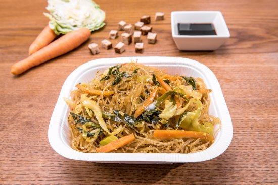 Spaghettini di soia con verdure e tofu la cucina di - La cucina di giuditta ...