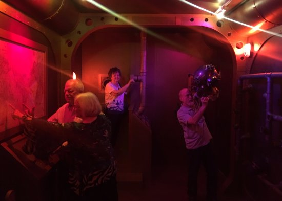 Sinking Submarine Room Picture Of Mission Escape Rooms