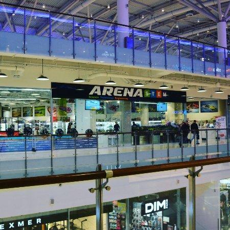 722c8b114584 Арена С.Т.Е.М. 3 этаж, ТРЦ Авиапарк и ТРЦ Семеновский - Picture of ...