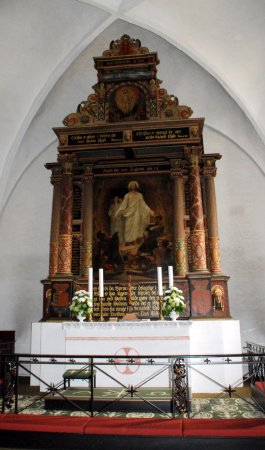 Dronninglund, الدنمارك: Alteret