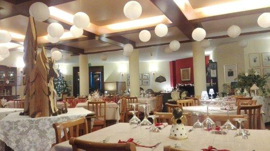 Pulfero, Italia: la sala ristorante