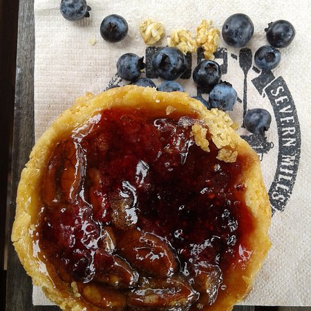 Port Severn, Canada: Hands down the best butter tarts ever.  Real buttery flakey crust and not too sweet fillings.