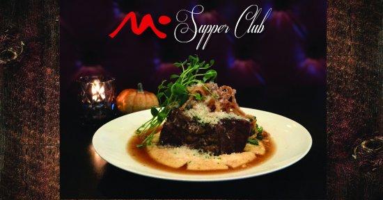 M Supper Club: Eight Hour Braised Beef Short Rib
