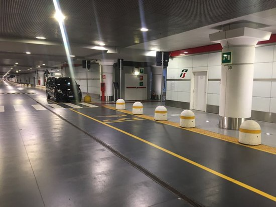 Bologna High Speed Railway Station Kiss Ride Parking Level 1