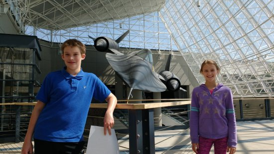 Ashland, NE: SR-71 Blackbird, with fans