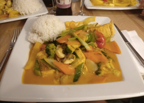 Achern, Alemania: Mango Curry mit Tofu