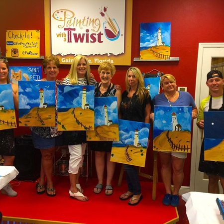 painting with a twist lake city
