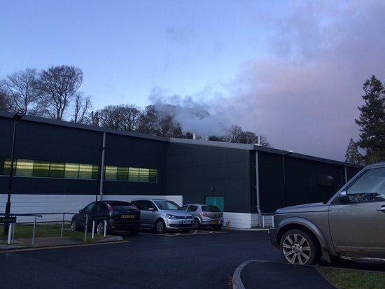 Tavistock, UK: Belching steam.