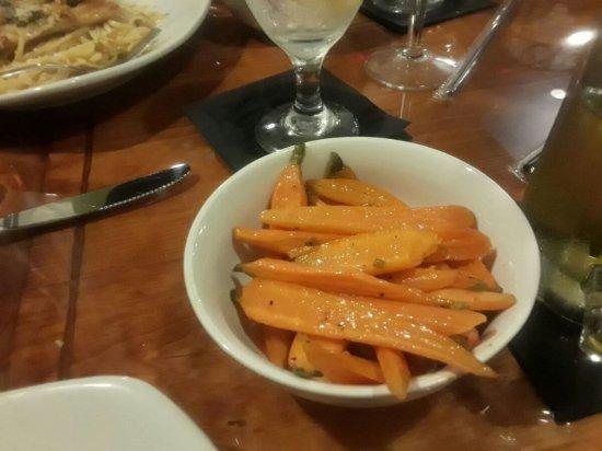 Leesburg, FL: Side of carrots.