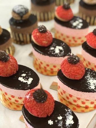 Tenafly, NJ: Raspberry promenade pastry