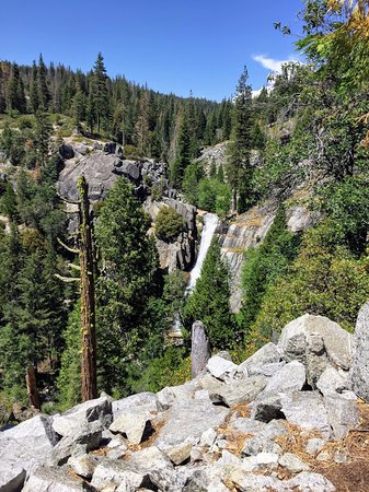 Wawona, CA: Waterfall on the Alder Creek Trail