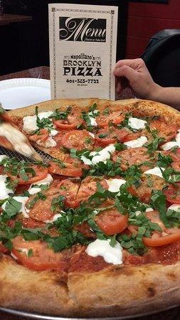 Cranston, RI: Margherita Pizza