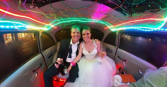 The Ultimate Taxi: The ultimate getaway car for the ultimate wedding!