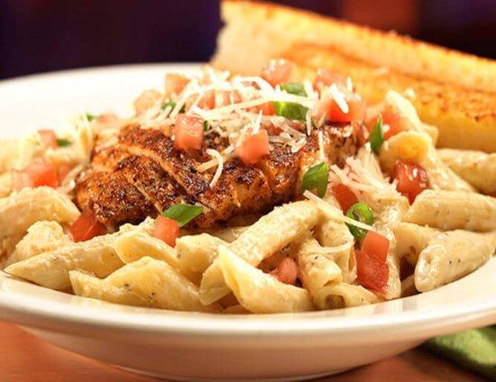 Meridian, ID: Large menu with three different pastas