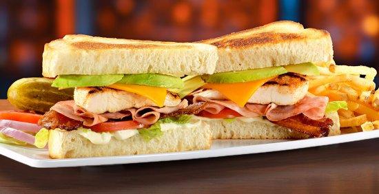 Meridian, ID: Avacado Chicken Club Pounder-our most popular sandwich