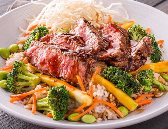 Meridian, ID: Steak Rice bowl-a favorite of many