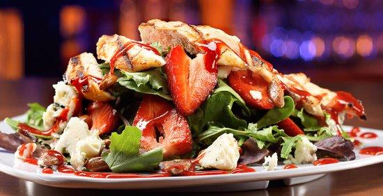Meridian, ID: Strawberry Blue Salad-one of our seasonal salads