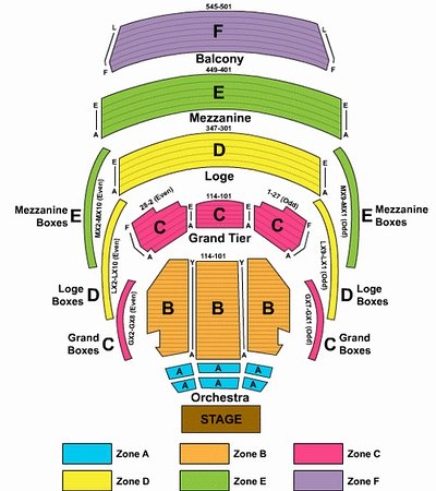 Dreyfoos concert hall seating chart picture of kravis center for