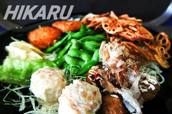 Hikaru fusion asian food buderim restaurant reviews for Australian fusion cuisine