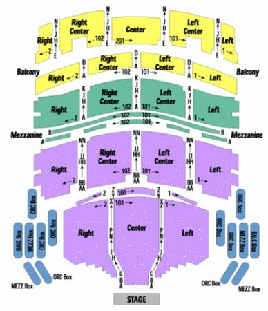 Au rene theater seating chart picture of broward center for the