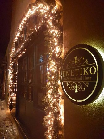 Christmas at Monemvasia and at Enetiko Cafe & Cocktail Bar!