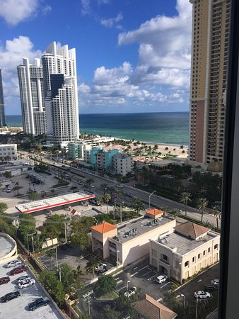 Residence Inn By Marriott Miami Sunny Isles Beach View From Our Room