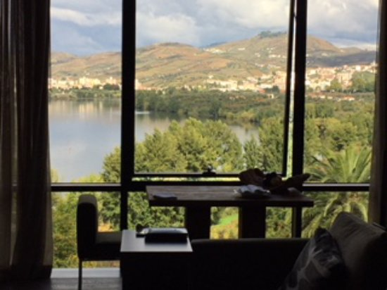 Samodaes, Portugal: Douro River View from a Quinta Suite