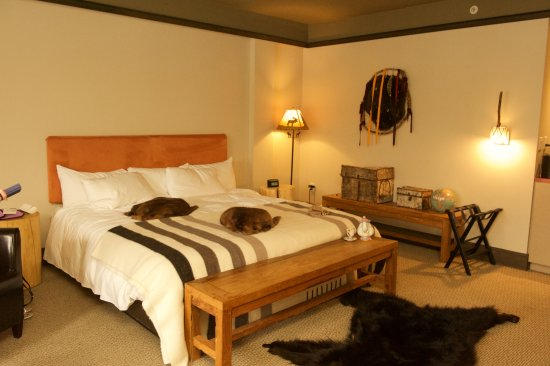 Wendake, Canadá: Suite chambre