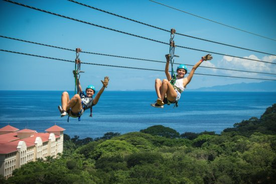 Playa Matapalo, Costa Rica: Diamante Dual Zip Line with Ocean View