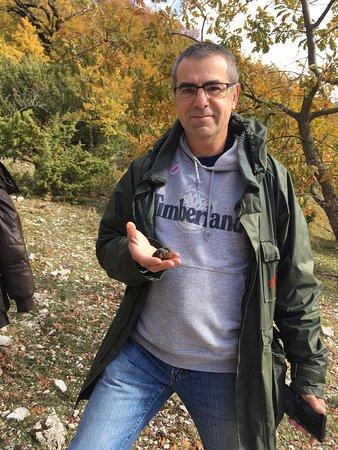 Montefalco, Italië: Truffle hunt