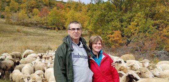 Montefalco, Italië: Hunting truffles