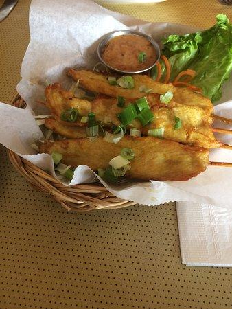 Fairfax, فيرجينيا: chicken on strips appetizer