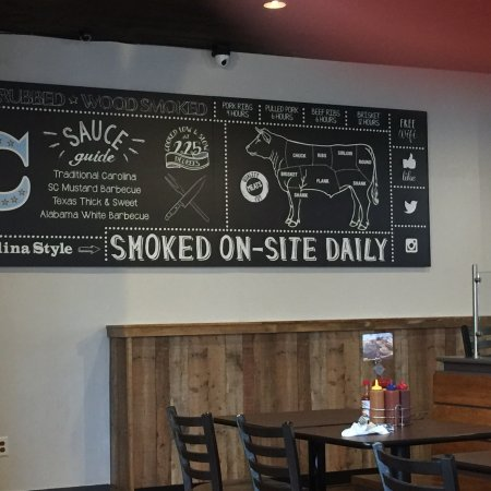 This new BBQ place in Cranston just opened.