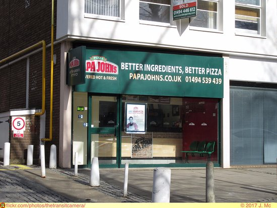 Papa Johns Pizza High Wycombe Thame House 9 Castle St