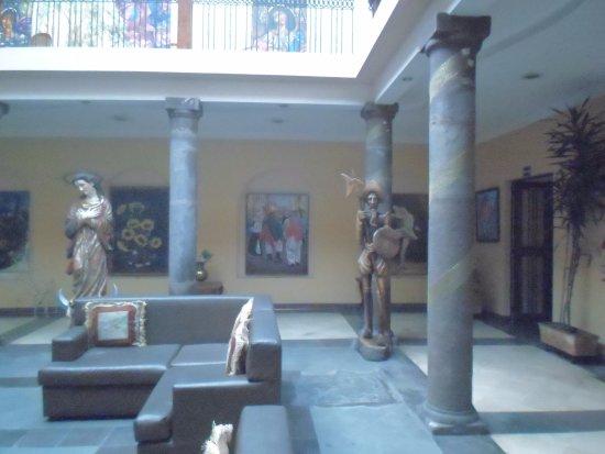Hotel Boutique Plaza Sucre: recepción
