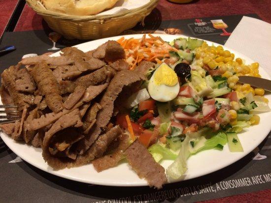 Istanbul Kebab Restaurant: Еда)