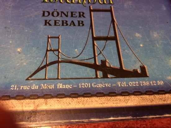 Istanbul Kebab Restaurant: Меню, адрес
