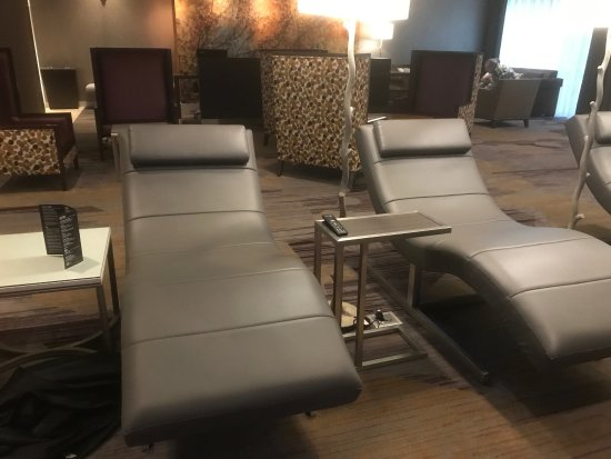 Courtyard Marriott Lenox Berkshires: Great Leather Recliner Chairs In The  Lobby   Can I Sleep