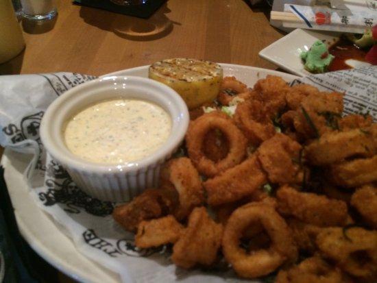 Salt Creek Grille: Calamari appetiser