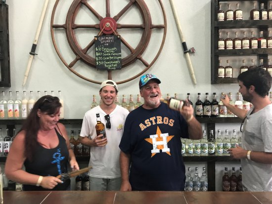 George Town, Grand Cayman: being silly